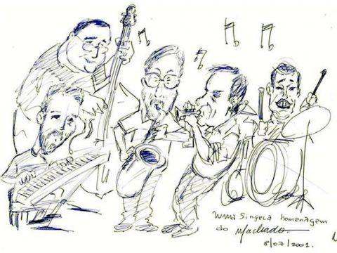 Caricatura Quinteto