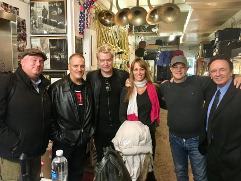 Com Chris Botti e Claudio Roditi em NYC